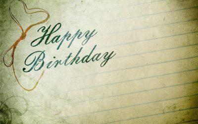 Geburtstagskarten – kreative Glückwünsche von Herzen